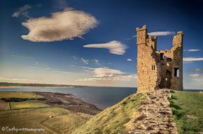 Dunstanburgh Tower Cloud
