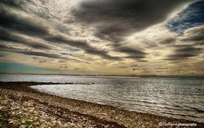 Lindisfarne Beach Wind