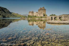Eilean Donan Castle Reflection