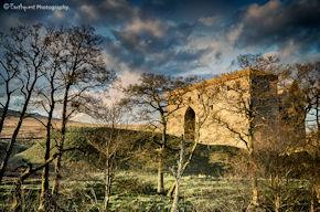 Hermitage Castle Sunset