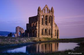 Whitby Abbey Dawn