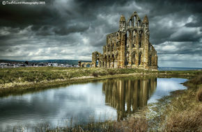 Whitby Abbey Storm